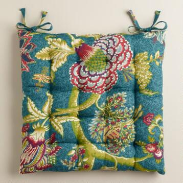 Darby Floral Chair Cushion
