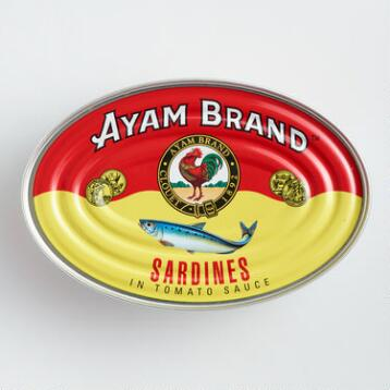 Ayam Sardines in Tomato Sauce, Set of 6