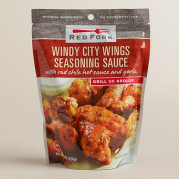 Red Fork Windy City Wings Seasoning Sauce, Set of 6