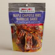 Red Fork Maple Chipotle Barbecue Sauce, Set of 6