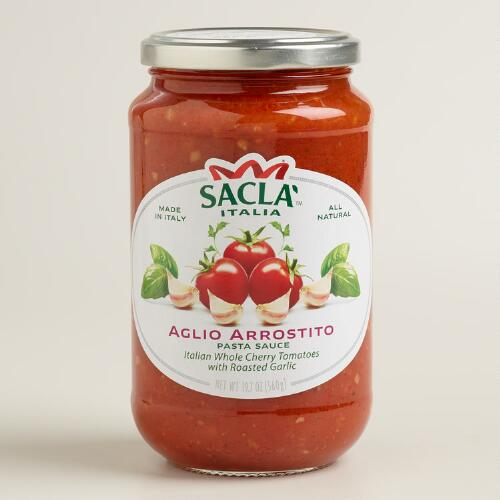 Sacla Roasted Garlic Pasta Sauce