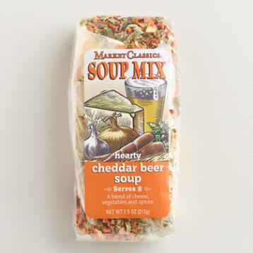 MC Beer and Cheddar Soup, Set of 2