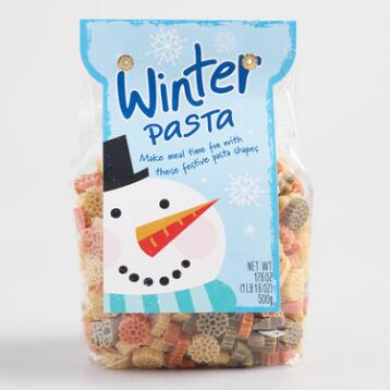 World Market® Winter Pasta, Set of 2