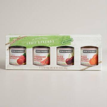 World Market® Fruit Spread Sampler, 4-Pack