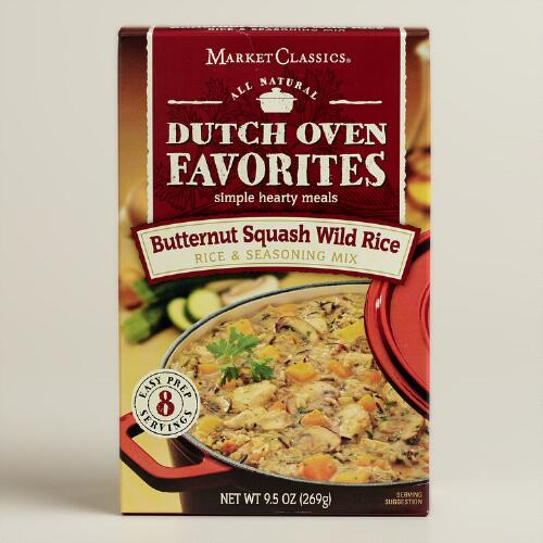 Dutch Oven Butternut Squash Meal