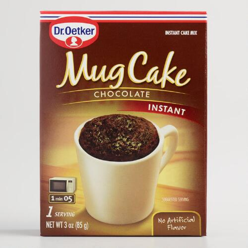 Dr. Oetker Chocolate Mug Cake Mix, Set of 6