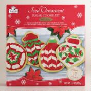 Iced Ornament Sugar Cookie Kit, Set of 2