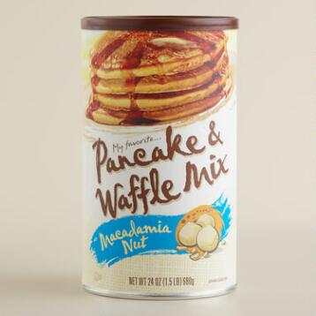 My Favorite Macadamia Nut Pancake Mix