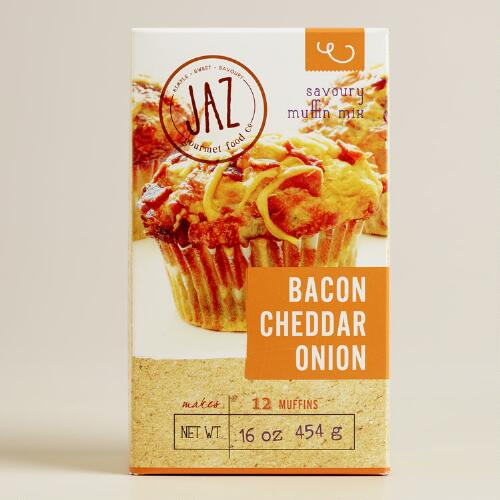 JAZ Bacon Cheddar Onion Muffin Mix, Set of 2