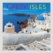 Greek Isles 16-Month Wall  Calendar