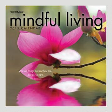 Mindful Living 16-Month Wall Calendar