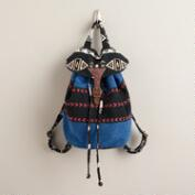 Blue Tribal Backpack