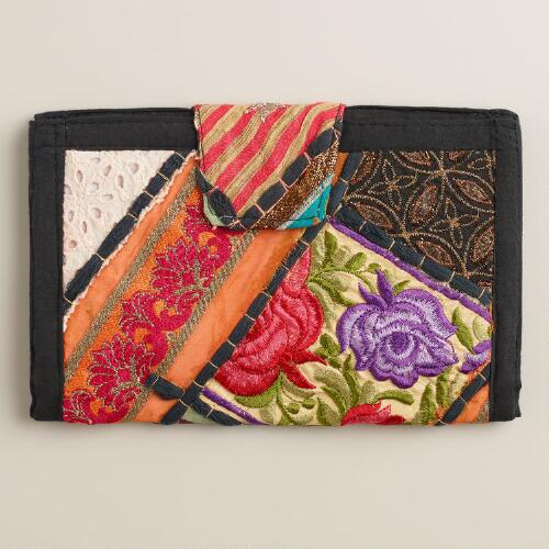 Sari Patchwork Wallet
