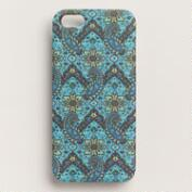 Blue Phoebe Paisley iPhone 5 Case