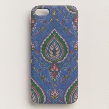 Blue Desert Paisley iPhone 5 Case