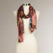 Multicolored Print Scarf