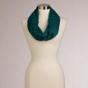 Teal Infinity Prayer Shawl