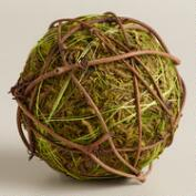 Mossy Ball Decor