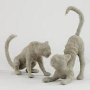Mummy Cats,  Set of 2