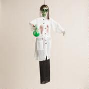 Mad Scientist Skeleton Figure