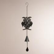 Cast Iron Owl Wind Chime