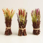 Mini Harvest Twig Bundles, Set of 3