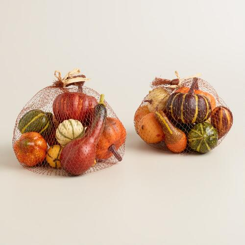 Thanksgiving Gourds, 22 Pieces