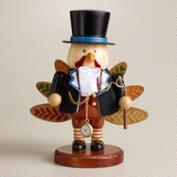 Mr. Turkey Wooden Nutcracker
