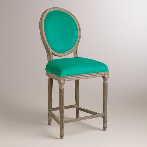 Emerald Paige Counter Stool