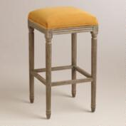 Topaz Paige Backless Barstool