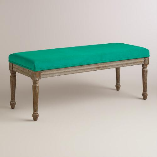 Emerald Paige Dining Bench