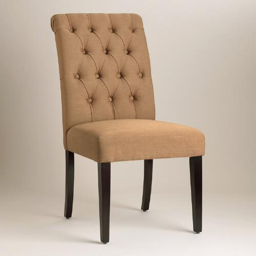 Golden Brown Harper Dining Chairs, Set of 2