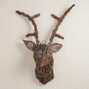 Twig Stag  Head