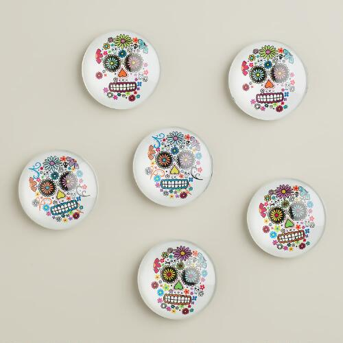 Day of the Dead Magnets, 6-Pack