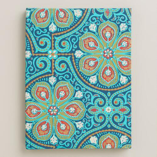 Blue Nomad Tiles Handmade Journal
