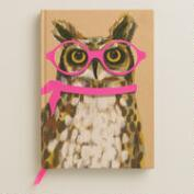 Neon Owl Bound Journal