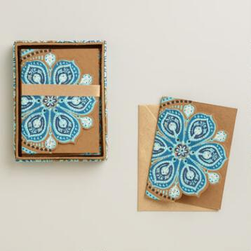 Nomad Tiles Handmade Notecards, Set of 8