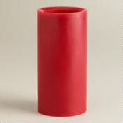 Red LED Pillar  Candles