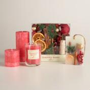 Holiday Classics Sugared Berry Candles