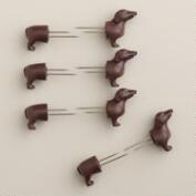 Dog Corn Holders,  4-Pack