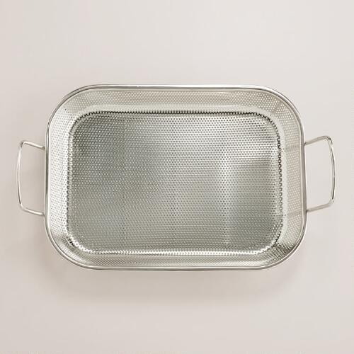Stainless Steel Perforated Mesh Roasting Pan