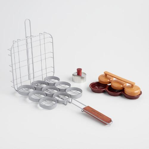 Deluxe Mini Hamburger Slider Set