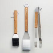 Stainless Steel 3-Piece Grilling Tool Set