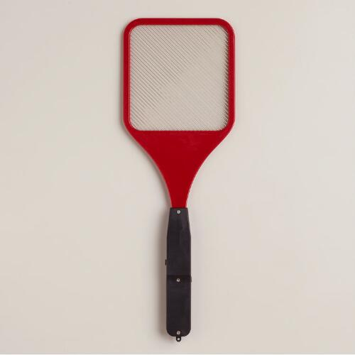 Red Steel Battery-Operated Bug Zapper