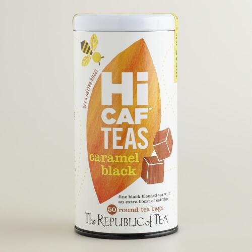 The Republic of Tea HICAF Caramel Black Tea, 50-Count