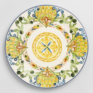 Peacock Dinner Plates, Set of 6