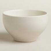 Square Ivory Trilogy Rice Bowls, Set of 4