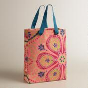 Large Nomad Tiles Handmade Gift Bag
