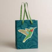 Small Tip-On Bird Handmade Gift Bag