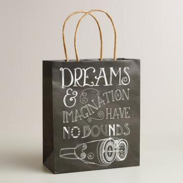 Medium 'Dreams and Imagination' Binoculars Gift Bag